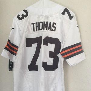 Nike Joe Thomas 73 Cleveland Browns Jersey 40